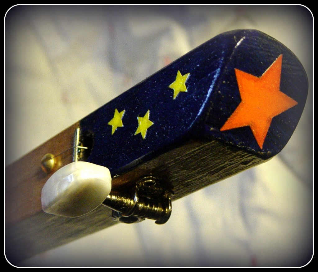 Baseball headstock stars 1